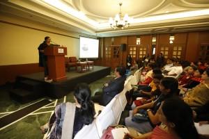 A talk by Ms Jalpa Shah, Jain Public School, Tamil Nadu